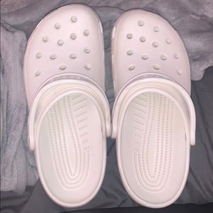 WHITE CROCS‼️ BRAND NEW